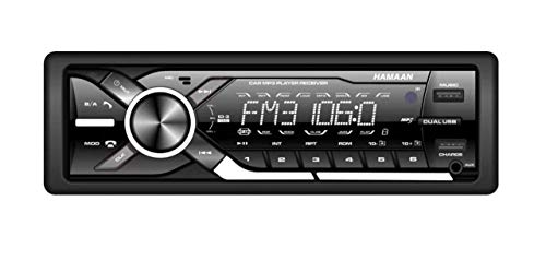 Hamaan HMFM-5118 Car Stereo FM/USB/SD/AUX Detachable Panel Car Mp3 Player Without Bluetooth + Wireless Remote