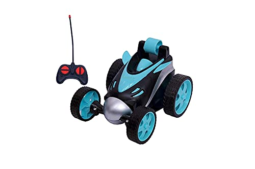 ESnipe Mart® Remote Control Car RC Stunt Vehicle 360°Rotating Rolling Radio Control Electric Race Car Boys Toys Kids Gifts Light Multi Color