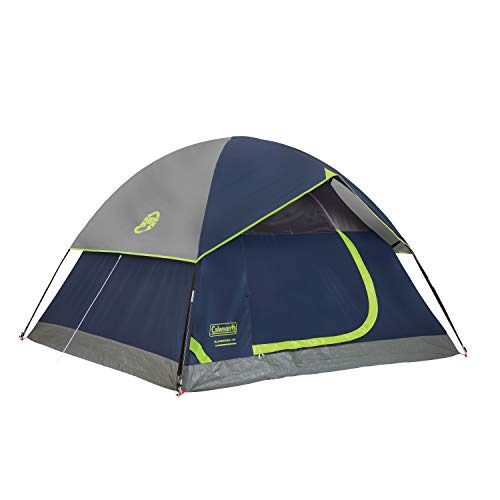 Coleman Polyester Sundome 4-Person Dome Tent (Blue)
