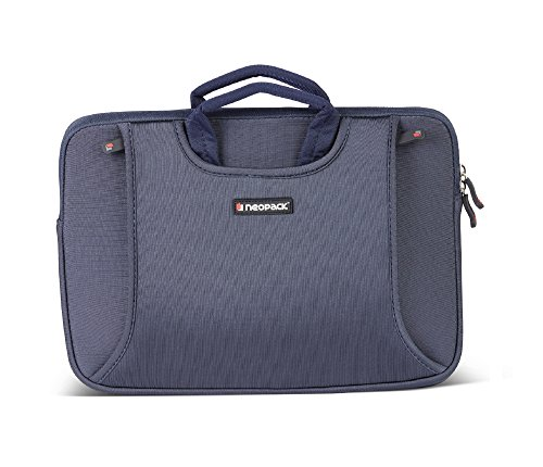 Neopack Handle Sleeve/Slim Bag for All 13 Inch Laptops/MacBook Pro & Air 13.3 inch - Blue (HP, Apple MacBook, Sony, Samsung, Lenovo, IBM, Asus, Toshiba, Compaq, Acer)