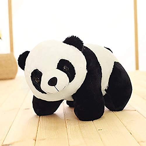 CLICK4DEAL Soft/Cuddle Small Black and White Panda Teddy Bear 26 cm Lovely Teddy Figure Toy