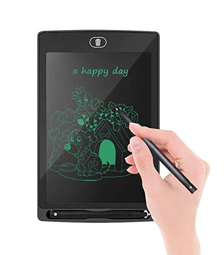 TEC TAVAKKAL Writing Tablet for Kids 8.5 Inch, Drawing Board Doodle Board Writing Pad Reusable Portable Ewriter Educational Toys, Gift for Kids Student Teacher Adults at Home, School and Office