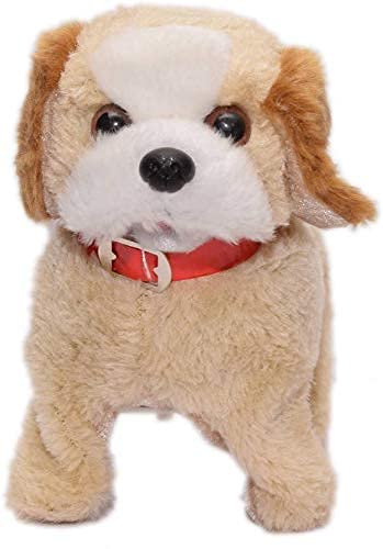 Toy Creations Adorable Jumping Fantastic Puppy Toy with Barking, Waging Tail, Walking and Flipping Best Toy for Kids