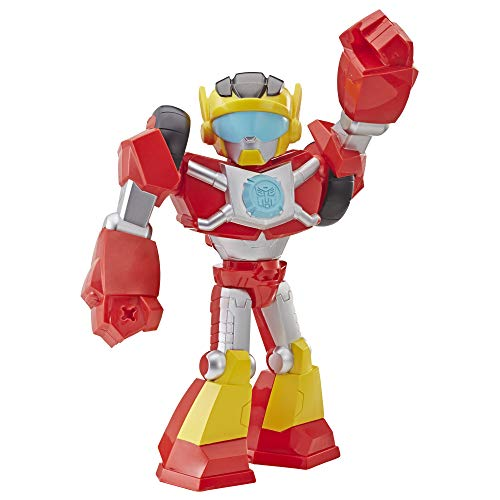 Playskool Heroes Transformers Rescue Bots Academy Mega Mighties Hot Shot Collectable 10-Inch Robot Action Figure