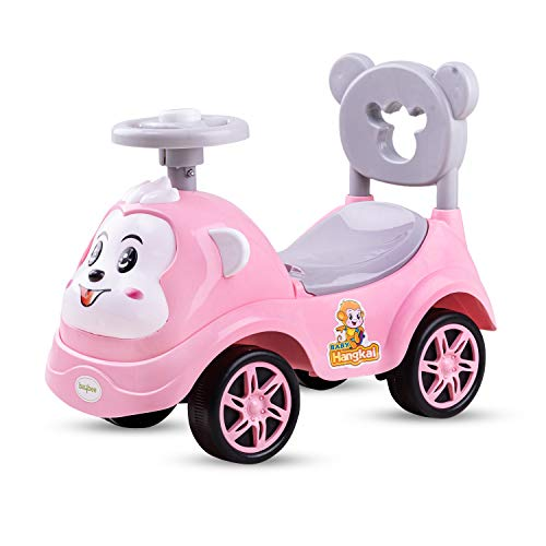 Baybee Baby Ride on/Kids Ride on Toys - Kids Ride On Push Car for Children Kids Toy Baby Car Suitable for Boys & Girls 1 - 3 Years (Pink)