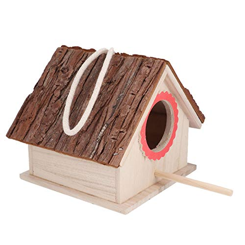 Quality Wooden Small Cage Accessories Outside Tent Bird, Bird Hammock, for Cockatiel Parakeet