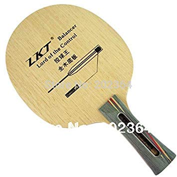 Wowobjects 1Pc Fl Long Handle Lkt Balancer Lord of The Control (L 1005) 7-PlyAllround Table Tennis Blade (Shakehand) for Pingpong Racket