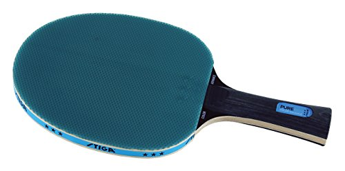Stiga Pure Color Wooden Advance Table Tennis Paddle/Racket, (Blue)