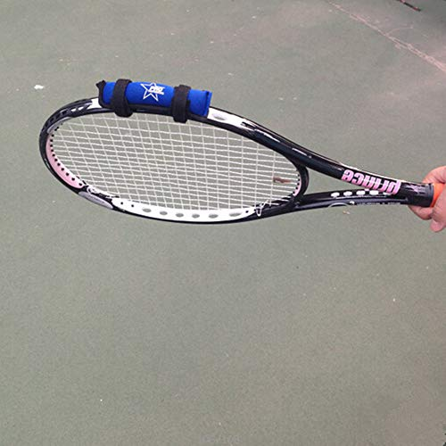 Tennis Racket Weight Training Aid Racquet Weight-Adding Device Tenis Trainer (Black)
