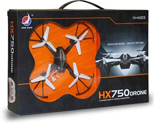 ZoomTech Flying Toy HX-750 Drone with Radio Remote Controlled Unbreakable Blades (Without Camera)