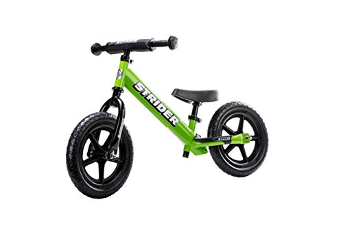 Strider - 12 Sport Balance Bike, Ages 18 Month to 5 Years - Green