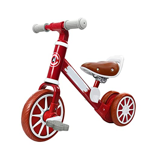 WorldCare® Baby Balance Bike Baby Balance Bicycle with Detachable Pedals for 2-4 Years Old Boys Girls-CS-A-307308