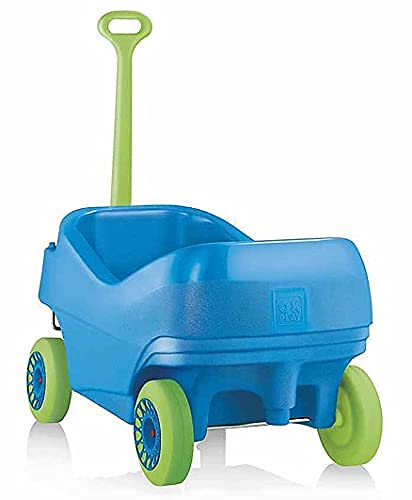 OKPLAY Dream Wagon Rider for Kids, Ride-On Kids Car with Shape Sorting Activity Kids Toys & Storage   Push Car Rider with Smooth Wheels Baby Car Suitable for Boys & Girls Age 1-3 Years