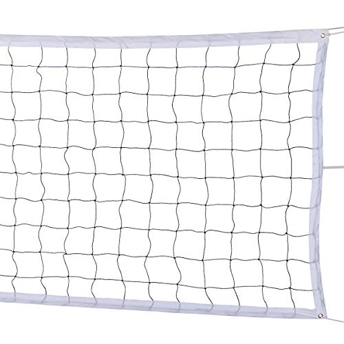 YLOVAN Volleyball Net for Pool Beach Park Backyard Outdoor or Indoor Sports Portable Volleyball Net(32 FT x 3 FT) Poles Not Included