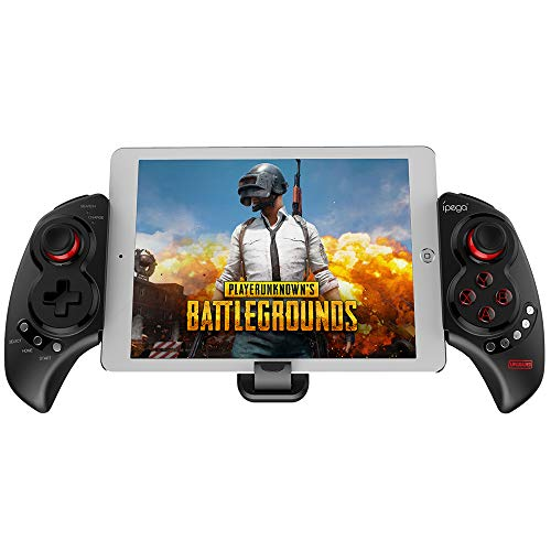 IPEGA PG-9023S Mobile Game Controller, Wireless 4.0 Gamepad PUBG Trigger Mobile Phone Telescopic Controller Joy Stick for iPhone Compatible with 5-10' iOS/Android Phone PC Tablet TV Box