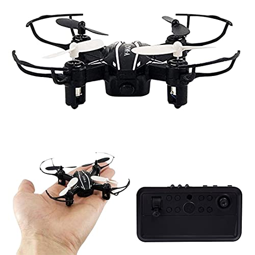 Chawla Agency Nano Drone Without Camera with 6-Axis Gyro, Flashy Lights & 360 Degree Rolling Function | RC Remote Controlled Nano Mini Drone for Kids