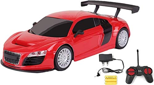 Prime Deals Plastic Rechargeable Racing Car for Kids with Remote Control - Assorated Design & Multi Color