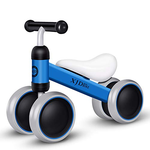 XJD Baby Balance Bike, Toddler Bike, Baby Tricycle for 10 to 24 Months Infant (Blue)