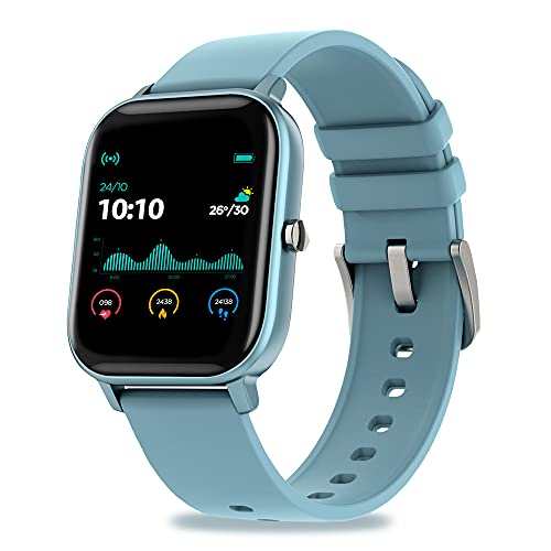 Pebble Pace Smart Watch for Women with Oximeter Function for SpO2 (Blood Oxygen) Monitoring with Full Touch Dynamic Colour Display, Multiple Sports Mode, HR, Sleep and BP Monitoring