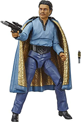 STAR WARS The Black Series Lando Calrissian 6-Inch-Scale, 40th Anniversary Collectible Action Figure