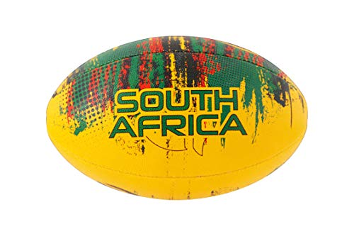 RMAX South Africa 3Ply Synthetic Rubber Rugby Ball Size 5