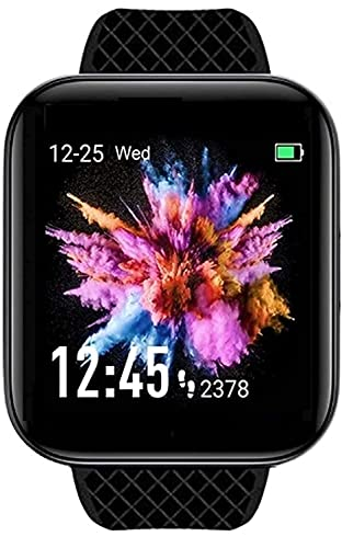 KORALO® XTU id116 Bluetooth Smartwatch Wireless Smart Fitness Band for Boys/Men/Kids/Women | Sports Gym Watch | Heart Rate and BP Monitor, Calories Counter Compatible with All Smartphones D8