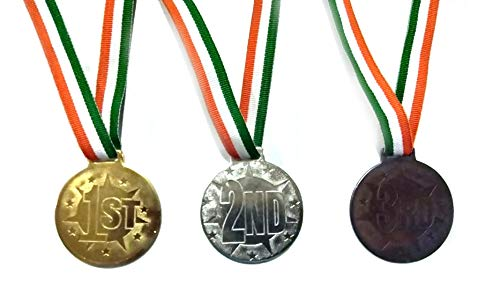 Be Win Round MS Medal with Indian Tag -Set of 3
