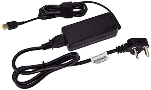 Lenovo 888015000 65W Laptop Adapter/Charger with Power Cord for Select Models of Lenovo (Slim Tip Rectangular pin)