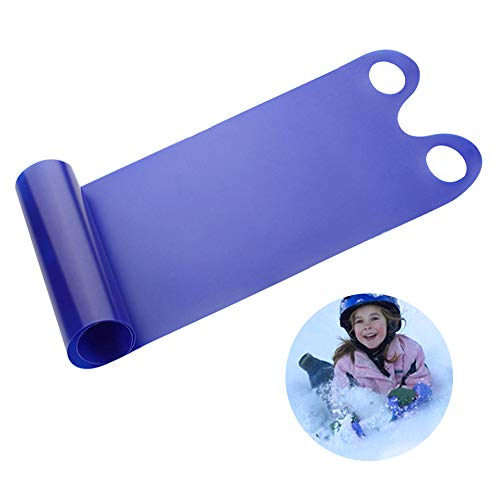 Topwon Simple Winter Snow Sled for Kids and Adults, High Speed Snow Sled