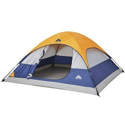 ULTRAZON Picnic & Camping Portable Polyester Waterproof Tent for 4 Person (Multicolour)