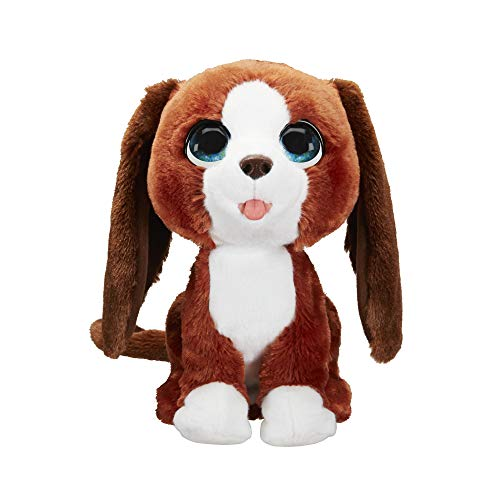 FURREAL FRIENDS Howlin' Howie Interactive Plush Pet Toy, 25+ Sound-&-Motion Combinations, Ages 4 & Up