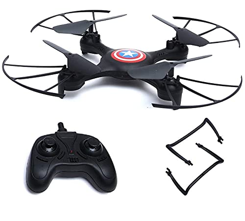 Amitasha Remote Control Toy Drone Without Camera RC Quadcopter with Adjustable Speed I Pack of 1 I Black
