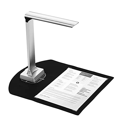 WorldCare® BK32 Foldable High Speed USB Image Document Camera Scanner 15 Mega-Pixels A4 Scanning Size with LED Light for Classroom Office Library Bank for Windows