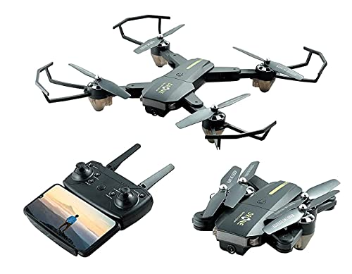 Concept Foldable GPS FPV Drone with 1080P HD 4k Camera Live Video for Beginners, RC Quadcopter with GPS Return Home, Follow, Gesture Control, Auto Hover & 5G Wifi Transmission