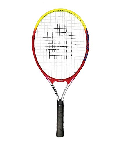 Cosco 23 Tennis Racket Junior Size, Aluminium Racket (23 Inches) ¾ Cover, Color May Vary