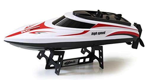 The Flyer's Bay 2.4G 4CH Remote Control Boat Dual Propellers High Speed Cruise Ship Yacht Model