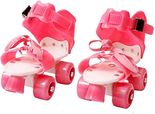 Toy Arena Dry Roller Skates Pro- Pink Color for Girl of 7Years to 11 Years,Age Skating with Adjustable Size 4 Wheel Safe