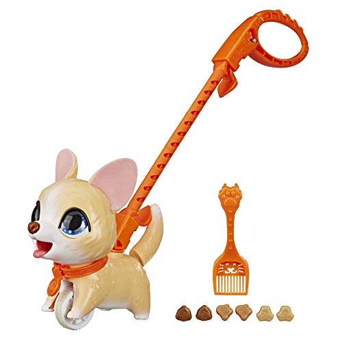 Furreal Friends Poopalots Lil Wags Interactive Pet Toy, Connectible Leash System