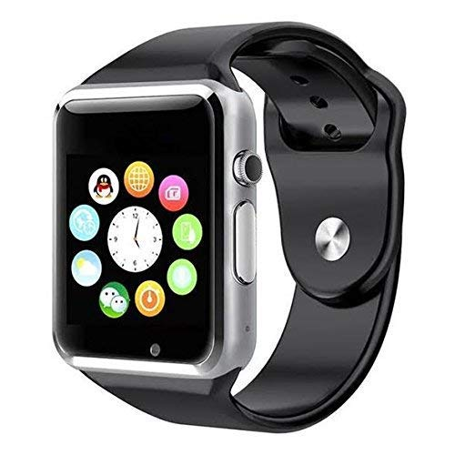 Ratehalf® A1 Smart Watch with Camera and Sim Card Support with Apps Like Whatsapp and Facebook for All 3G & 4G Android/iOS Smart Phones