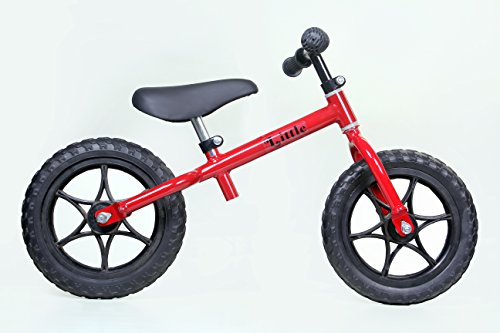 Little Balance BIKE- Red Color for Kids Ages 2-5 Years (Red)