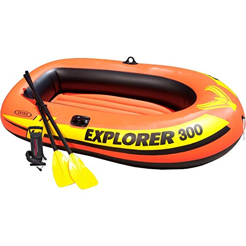 Momai Inflatable Explorer 300 Boat for Outing/Rafting 58332