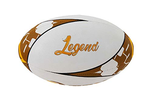 Belco Sports Legend 4Ply Synthetic Rubber Top Grade Rugby Ball Size 5
