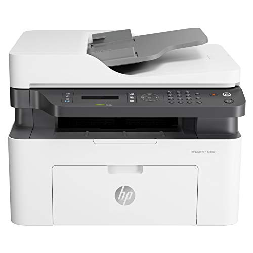 HP Laserjet 138fnw Print Copy Scan & Fax, Wi-Fi Printer, Compact Design, Reliable, and Fast Printing, Network Support