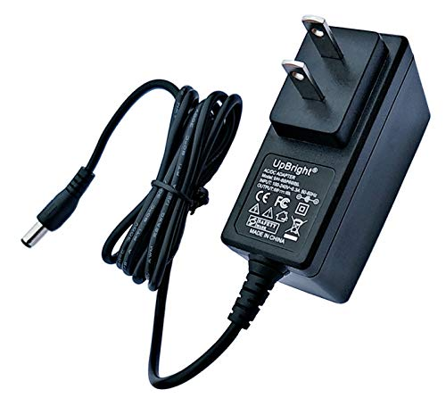 UpBright 6V - 7.5V AC/DC Adapter Replacement for Coleman QuickPump Rechargeable Air Mattress Pump Quick Pump 6VDC-7.5VDC 200mA DC6V - DC7.5V 0.2A Switching Power Supply Cord Charger (NOT fit 12V)