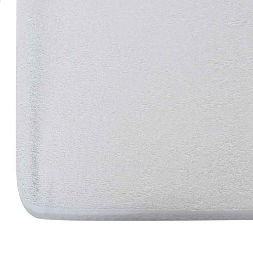 Wakefit Water Proof Terry Cotton Mattress Protector - 78' x 72', King Size, White