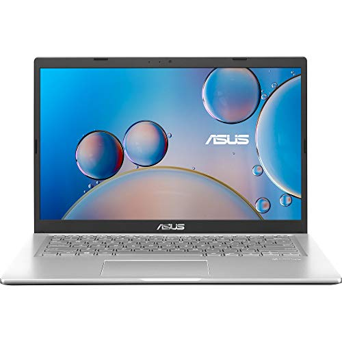 ASUS VivoBook 14 (2021) 14.0-inch (35.56 cms) FHD, Intel PentiumSilverN5030, Thin and Light Laptop (4GB/256GB SSD/Office 2019/Windows 10/Integrated Graphics/Silver/1.6 Kg), X415MA-EK111TS