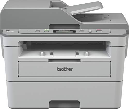 Brother DCP-B7535DW Multi-Function Monochrome Laser Printer with Auto Duplex Printing & Wi-Fi (Toner Box Technology)
