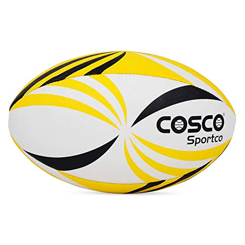 Cosco Synthetic Rugby Ball, Size 5