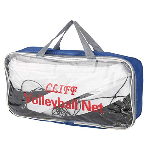 Beach Volleyball Net, Outdoor Volleyball Net, Standard Size Wear Resistant for Indoor/Outdoor Match with Storage Bag Volley Lovers Beach Game
