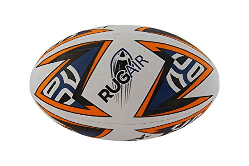 Belco Sports RUGAIR 3Ply Synthetic Rubber Top Grade Rugby Ball Size 5